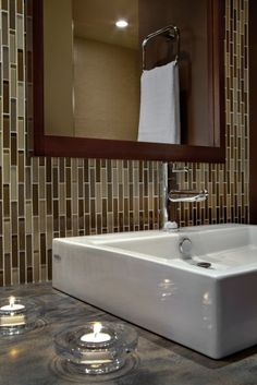 Vertical Glass Tile
