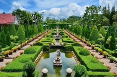 Ready for a trippy spring? Be sure to visit Nong Nooch Garden in China.