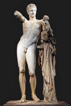 Hermes of Praxiteles - Ancient Olympia #outdoorsgr