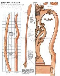 Philadelphia Side Chair Plans - Furniture Plans
