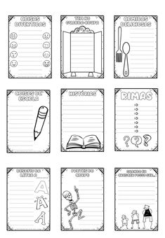 Notebook, Bullet Journal, 1, Writing Activities, Abc Centers, Note Cards, The Notebook, Exercise Book, Notebooks