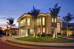 Decor Salteado - Blog de Decoração e Arquitetura : Fachadas de casas de esquina – veja modelos modernos e dicas!