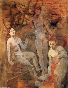 Pablo Picasso - Three nudes
