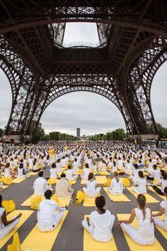 international yoga day, France
