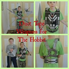 The Hobbit Duct Tape Weapons @Amy Boone