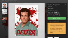 TOTAL ART: El Arte de Glauco De Bellis (Brasil) Dexter Morgan, Cool Store, Art Prints, Poster, Brazil, Movies, Art Impressions, Billboard