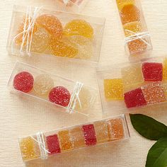 DIY Fruit Jellies: As joyful as the candies from childhood, this version explodes with fresh-from-the-tree flavor.