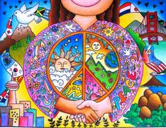 """""""Peace In Every Part of the World"""" by Monica C. for the United Nations Art for Peace Contest (2012)"""