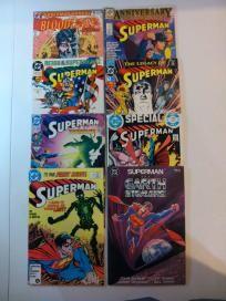 8 COMIC LOT - SUPERMAN   (DC 1983) *FREE SHIPPING*