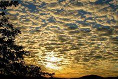Cidade de #Caconde interior de SP -  #Céu #Natureza #Nuvens