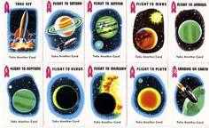 Space Race Card Game, Edu-Cards, 1969. via Paula Wirth