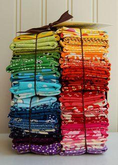 Bundles of colour