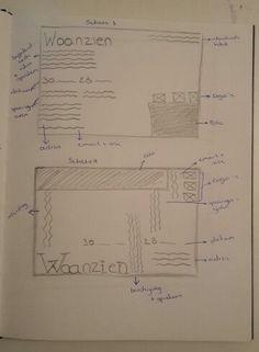 Concept 1 (advertising): schets 3+4