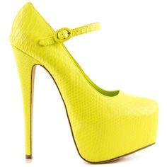 Tijuana - Lemon, Shoe Republic, 54.99, FREE 2nd Day Shipping!