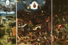 Lucas Cranach (after Hieronymus Bosch), the last judgement, ca.1525/1530