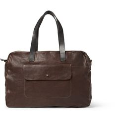 Ally Capellino Jimmy Textured-Leather Holdall