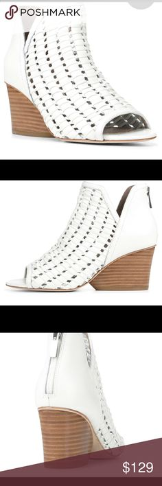 a402bbb8289b Donald Pliner New with Box Leather Wedge Brand New with box Calf Leather  Upper with back