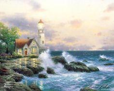 Thomas Kincade - Ocean Cottage