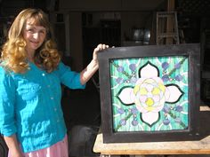 Jeanne Gomm With Expanded Potential Glass Mosaic
