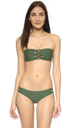 Tori Praver Swimwear Napili Bandeau Bikini Top