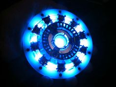 DIY Iron Man Arc Reactor that pulses w your own heart rate