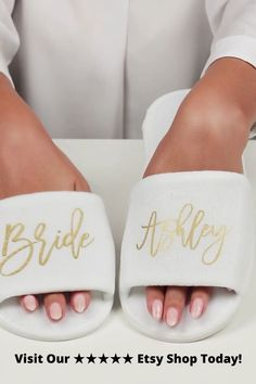 Bridesmaid Slipper, Adult Party Favor, Bridesmaid Slippers Set, Custom Wedding Slipper Bridesmaid Slippers, Wedding Slippers, Party Favors For Adults, Spa Slippers, Bridesmaid Proposal Gifts, Girls Getaway, Will You Be My Bridesmaid, On Your Wedding Day, Destination Wedding