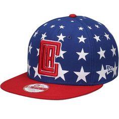 LA Clippers New Era Starry Cap Original 9FIFTY Adjustable Hat - Royal/Red - $27.99