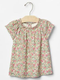 Floral cap top Product Image