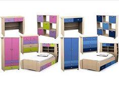 Childrens-Pink-or-Blue-Bedroom-Furniture-Bed-Wardrobe-Chest-Desk-Sydney-Range