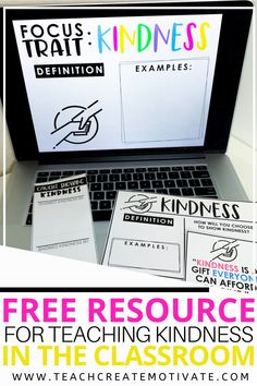 Teaching kindness in your elementary classroom is such a vital part to building a strong classroom community! That's why I'm sharing my FREE resource for teaching this important character trait to your students. One of my favorite ways to use this classroom resource is during my morning meetings, but it can be used a variety of ways!