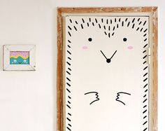 Frida the friendly Door decal / Wall decal for by MadeofSundays