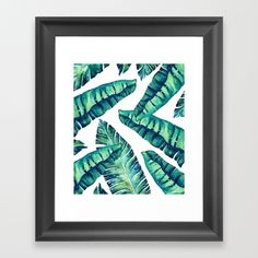 "Hand Painted Banana Leaves Pattern<br/> Credits: <a href=""http://www.freepik.com/free-photos-vectors/watercolor"">Watercolor vector designed by Planolla - Freepik.com</a>"