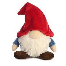"NEW Tinklink Gnome Red Hat 7.5 "" Plush Cuddly Soft Toy Teddy By Aurora 16770"
