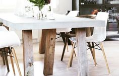 Wooden Leg, Dining Table, Plastic, Legs, Dinner, Chair, Furniture, Home Decor, Dining