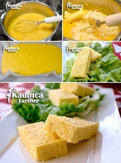 Polenta Tarifi Breakfast Menu, Breakfast Items, Polenta, Homemade Beauty Products, Beautiful Cakes, Cornbread, Health Fitness, Food And Drink, Gluten Free