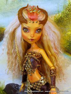 Gilda Goldstag Repaint - Monster High Doll Custom OOAK from Fantasy Dolls by…