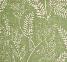 Chiara in Neem from Lisa Fine Textiles #fabric #linen #green