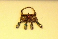 Byzantine Brooch In Archaeological Museum Istanbul