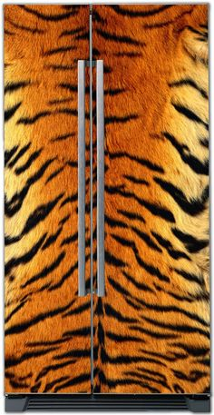 Refrigerator covers – Fur tiger