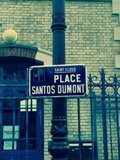 Sign in Saint Cloud, France