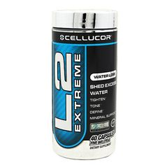 Cellucor L2 Extreme 40 Caps Natural Water Removal and Diuretic!