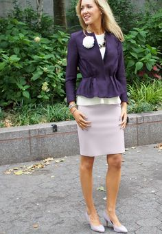 The Classy Cubicle: HM Online Launch! The fashion blog for young professional women who need office style inspiration and work wear ideas for the corporate world and beyond. The dos and don'ts for appropriately suiting up as a female in corporate America. 20s, 30s, 40s, 50s, attire, outfits, hm, peplum, purple, essie.