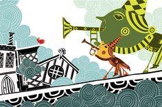 彩色童心插畫家 Simon Wild - 別盲目追隨流行,保持作品的原創。