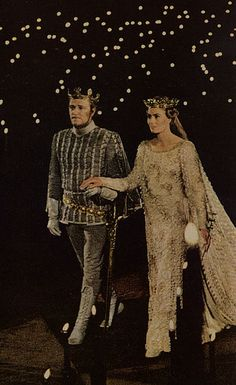 wedding in Camelot, make me cry it is so beautiful. I think it it is my favorite musical of all time.