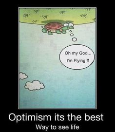 Optimism is a way of life!