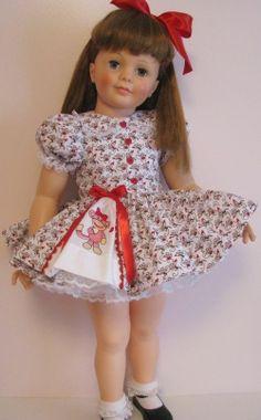 Patti Playpal dress set by amrfashions