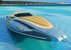 Tender Capri 13m Boat by Alessandro Pannone Architect