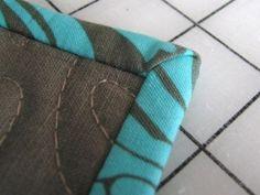 straight edge quilt binding tutorial by sondra