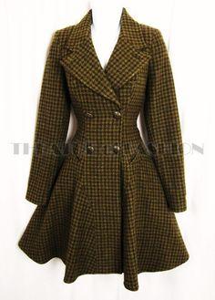 Vintage Corset Riding Coat