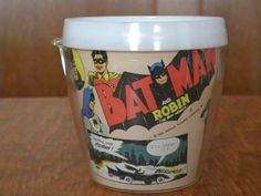 Batman and Robin Mug 1966 National Periodical Publications, via Etsy.
